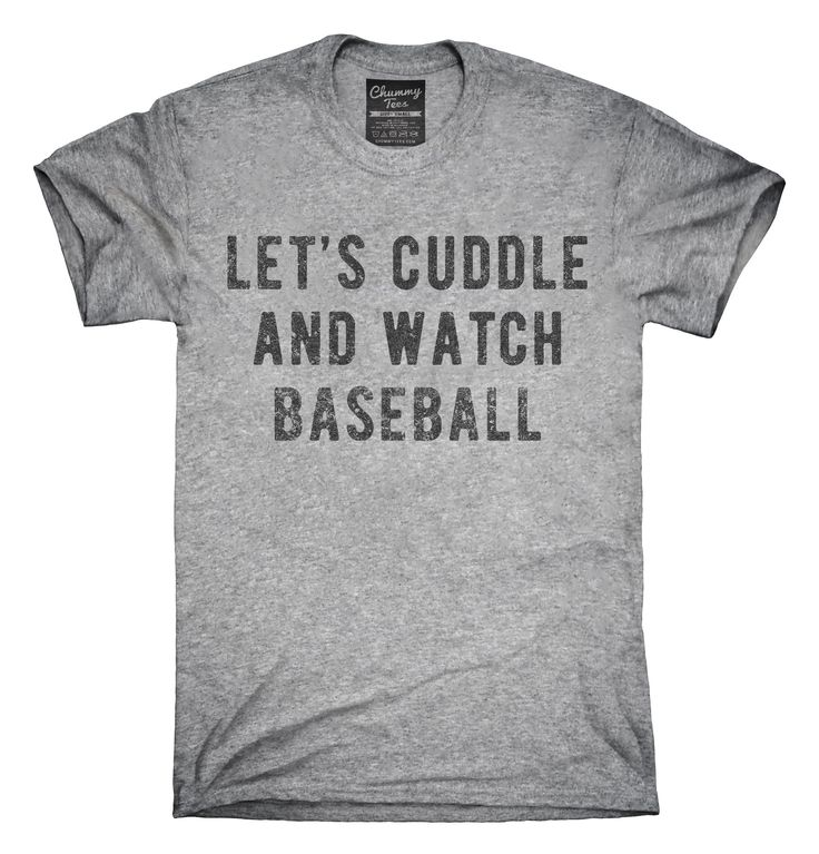 Let's Cuddle And Watch Baseball T-Shirts, Hoodies, Tank Tops