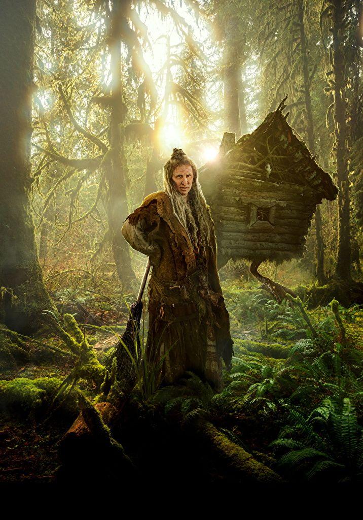 Bilder The Last Warrior 2017 Alte Frau Elena Yakovleva, (Baba Yaga) Film