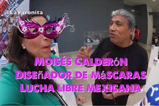 Conozcan a Moisés Calderón, quien le ha dedicado toda una vida a lucha libre mexicana, primero como un luchador profesional y ahora, como un gran diseñador de máscaras de lucha libre.