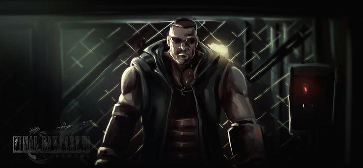 Final Fantasy 7 Remake, Ibrahim Abdo on ArtStation at https://www.artstation.com/artwork/WPXqN