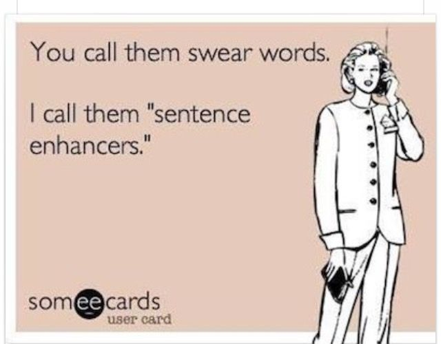 Said the potty mouth princess.