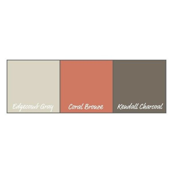 For The Home Gray And Coral Room Found On Polyvore 5555 Ximines Pinterest Home Living