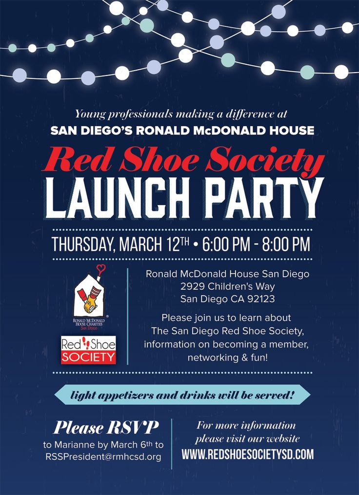 7 best exclusive launch party ideas images on pinterest launch page not found ronald mcdonald house charities of san diego stopboris Image collections