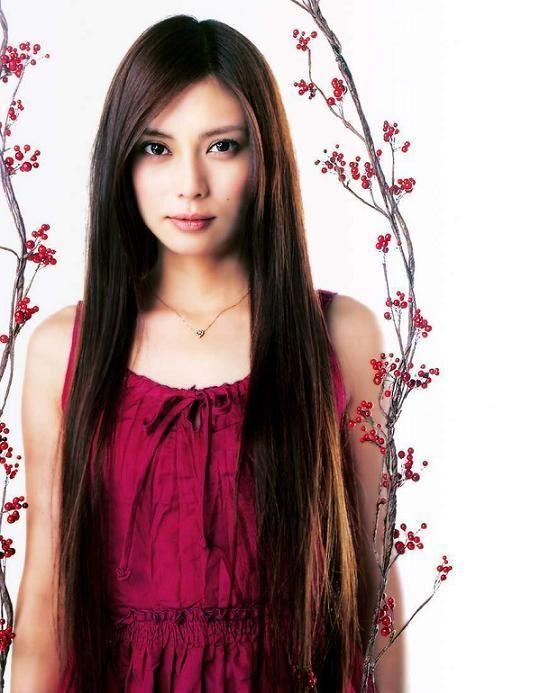 красивая японка Коу Шибасаки. Фото / Kou Shibasaki. Photo