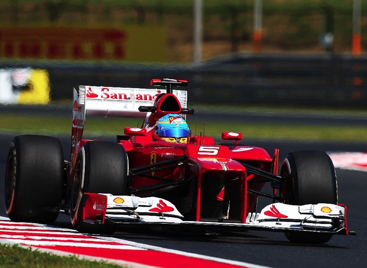 Quinto puesto de Alonso en el G.P. de Hungría.