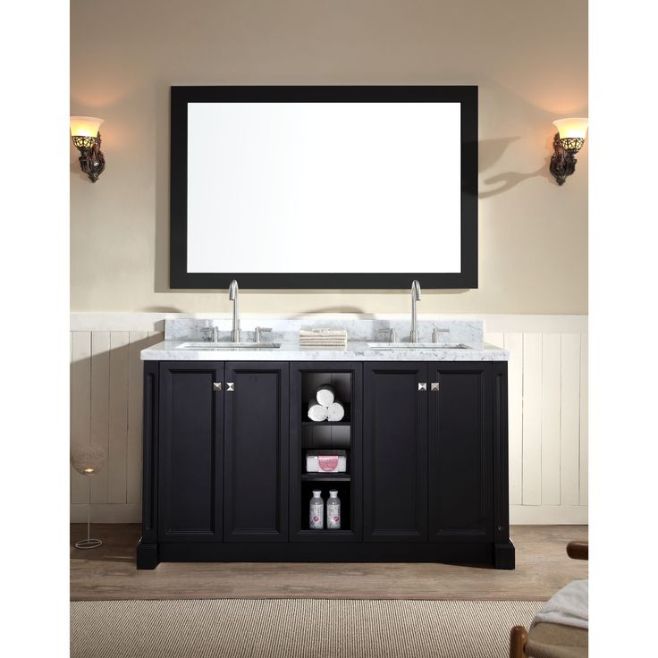 black vanity with sink. Ariel Westwood 60 inch Double Sink Black Vanity Set  Best 25 vanity set ideas on Pinterest table