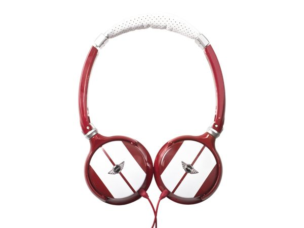 Mini Cooper 814 Στερεοφωνικά Ακουστικά 3.5 mm jack puro mini cooper design fashion headphones red white music fashion