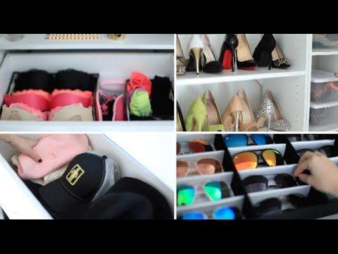 Closet Organization Tips & Tour // Rachel Talbott on YouTube