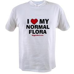 I Love My Normal Flora #medical #humor #gifts $16.97