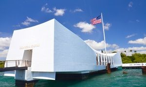 Groupon - Pearl Harbor & Arizona Memorial Tour with Transportation from Aloha Pearl Harbor Tour (Up to 53% Off) in Multiple Locations. Groupon deal price: $39