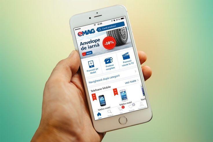 eMAG și-a lansat aplicația pentru iPhone  eMAG, cel mai mare magazin online din România tocmai și-a lansat aplicația pentru iPhone. După mult timp cei de la eMAG au decis că în sfârșit este timpul să aibă și ei aplicație de dedicată pentru iPhone. Website-ul eMAG rulează foarte bine atât de pe sistemele desktop cât și de pe terminale mobile, dar întotdeauna o aplicație dedicată va oferi o experiență superioară.