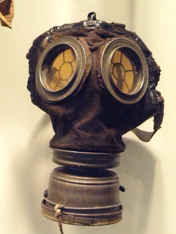 The GM-15 (Gummimaske) 1916. Germany's First WWI Gas Mask. - Civilian Military Intelligence Group