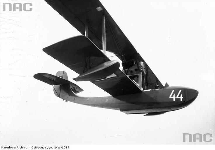 Samolot - amfibia FBA 17H w locie, 1926 - 1932