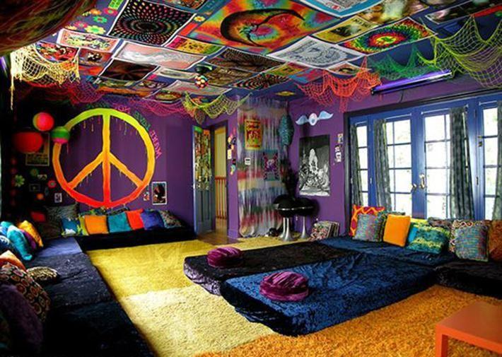 Bohemian Decor Bedroom Peace Hippie Gypsy Bohemian Home