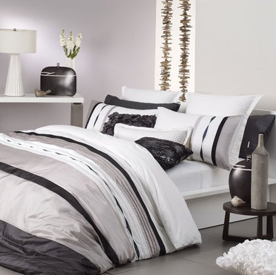 Mosman Taupe By Logan and Mason Quilt Cover Set