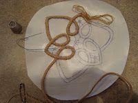 Excellent tutorial on romanian point lace technique using a crochet braid. Wonderful freeform design possibilities!{Thread Head: Romanian Point Lace Tutorial}
