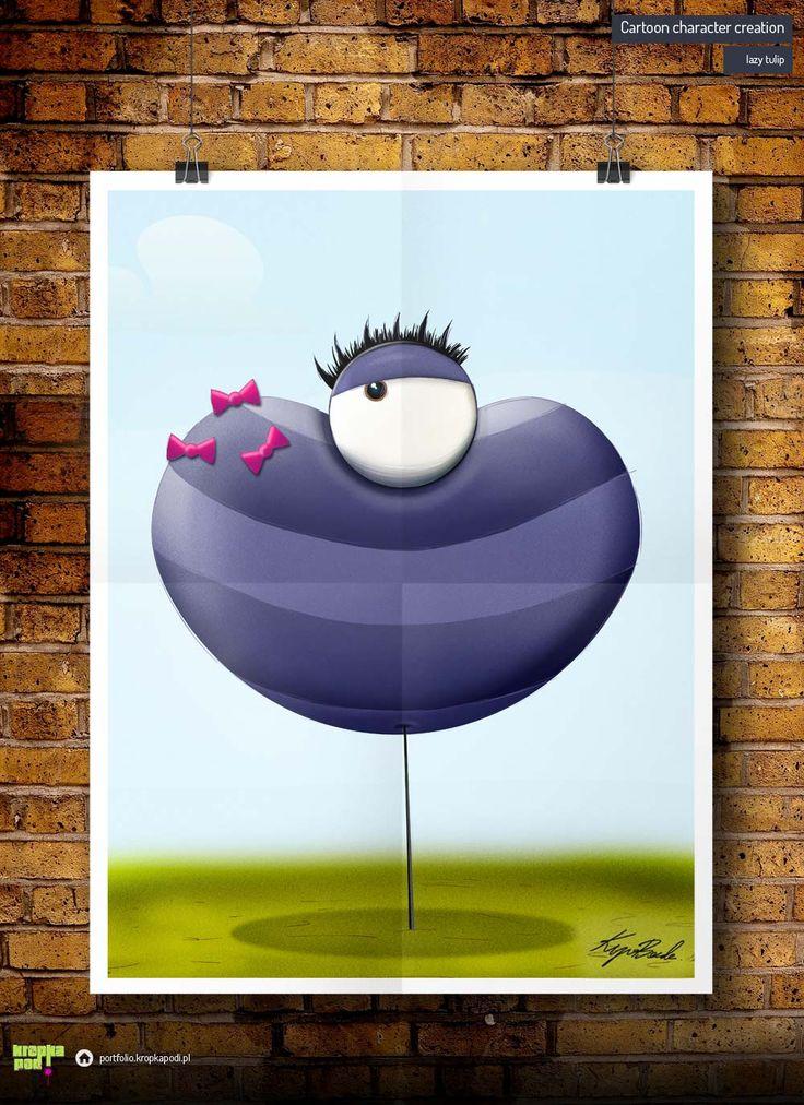 #illustrations #drawings #cartoon #illustrator #children #digital drawing #cartoonig #krupa #tulip