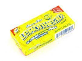 Ferrara Pan Lemonhead Candy: 23g Box