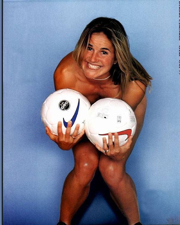 There can Brandi chastain soccer ball final