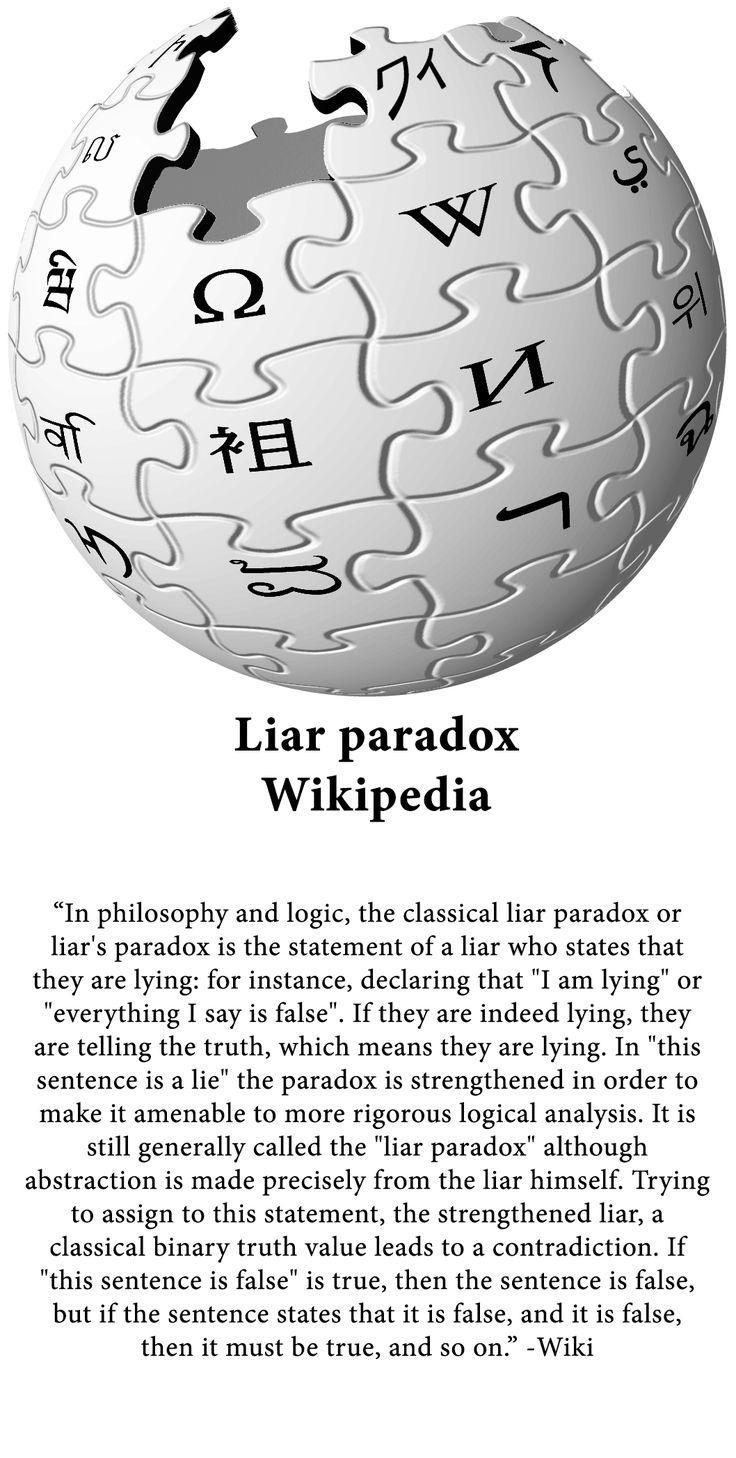 Liar Paradox - Wikipedia