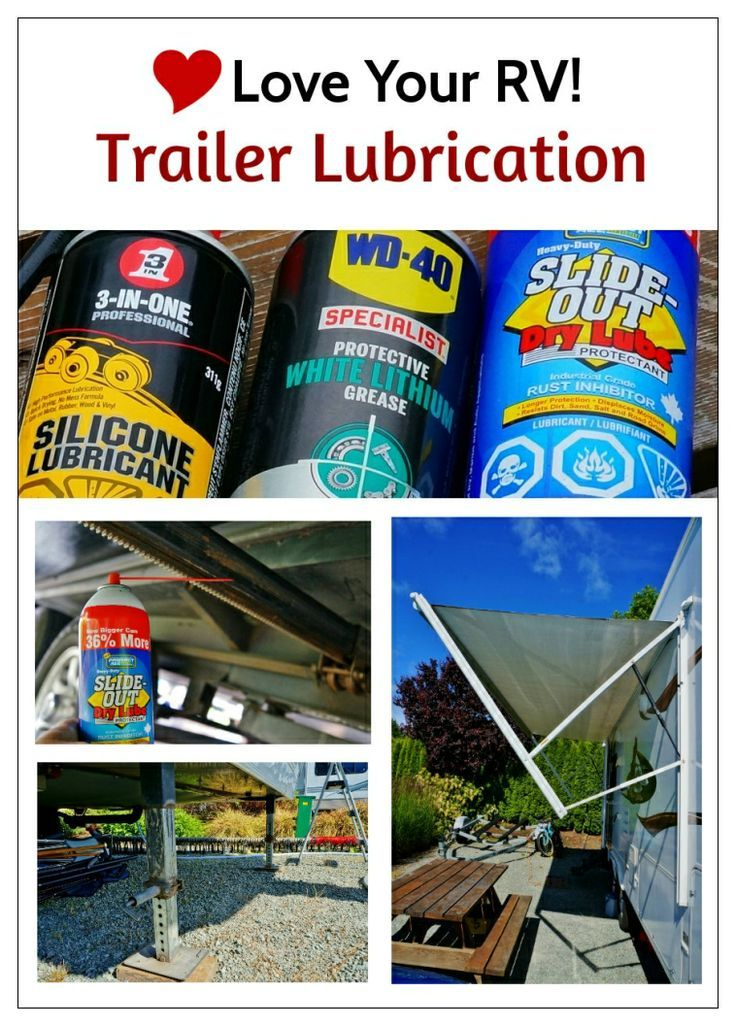 Lubing My Fifth Wheel Trailer by the Love Your RV! blog - http://www.loveyourrv.com/ #RV #howto