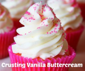 Crusting Cream Cheese Buttercream Recipe {Great for Decorating}-  best  cc icing ever!!  TD 5/2014