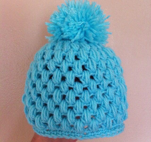 Crocheting Puff Stitch : Puff stitch hat : crochet Hats Pinterest