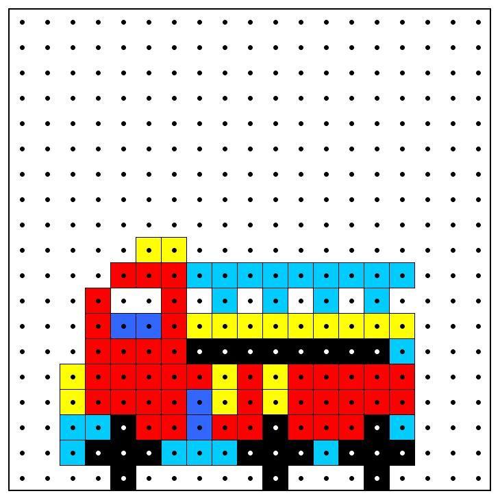 KleuterDigitaal - wb kralenplank brandweerauto 02