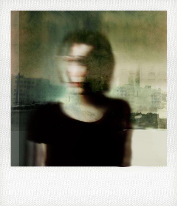 A girl Askew #photography #polaroid