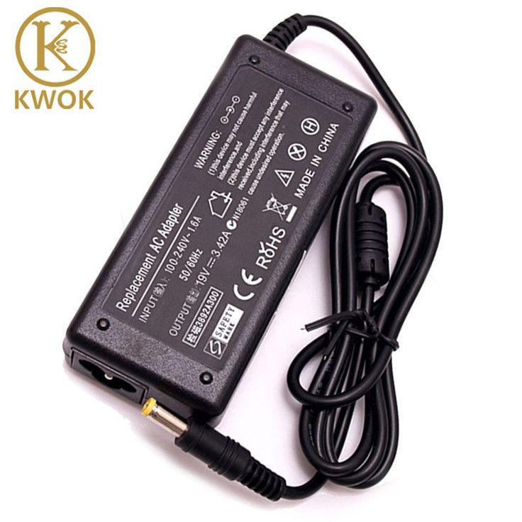 19V 3.42A AC Laptop Charger Adapter For Acer Aspire 5315 5735 5920 5738 7520 Power Supply Charger Cord for ACER Laptop