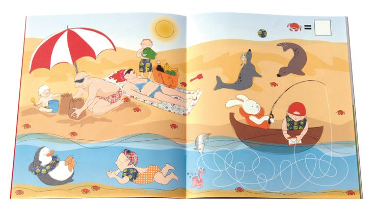 Activity Book, Goboken, Sandviks - Children's Book