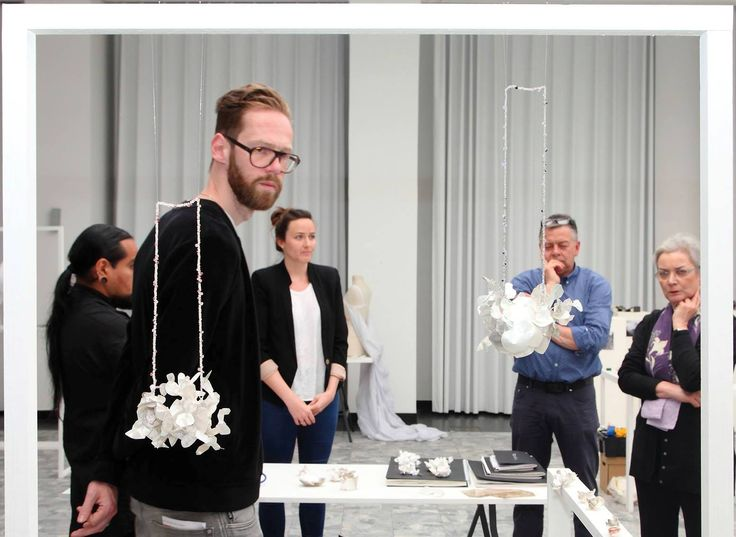 Jewellery Design Royal Academy of Fine Arts Antwerp - le jury . l'heure est grave ...... ORSOLYA LOSONCZY bachelor project 2015 'Mine