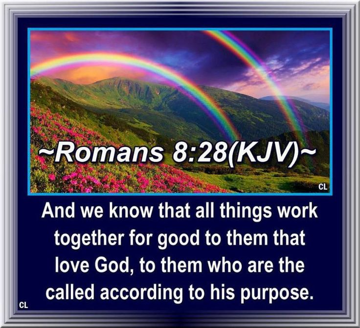"""✝✡Romans 8:28 KJV✡✝ #Shalom Everyone!! ( http://kristiann1.com/2015/04/16/r828/ ) """"And we know that all things work together for good to them that love God, to them who are the called according to His purpose."""" ✝✡Yeshua-Jesus Christ Loves Ye All✡✝ ✝✡""""Am Yisrael Chai, Yeshua Adonai""""✡✝ ✝✡Hallelujah & Shalom!! Kristi Anne✡✝"""