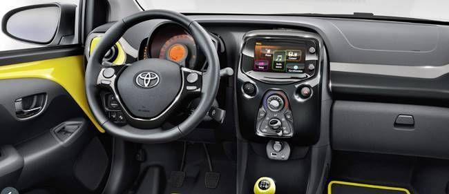 2018 Toyota Aygo interior