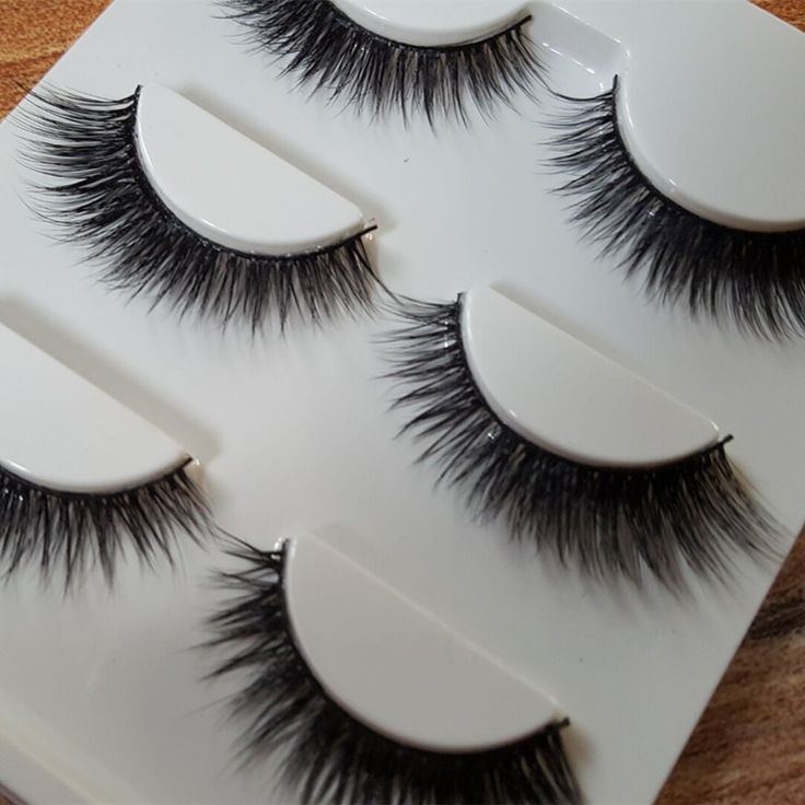 Sexy 100% Handmade 3D mink hair Beauty Thick Long False Mink Eyelashes Fake Eye Lashes Eyelash High Quality