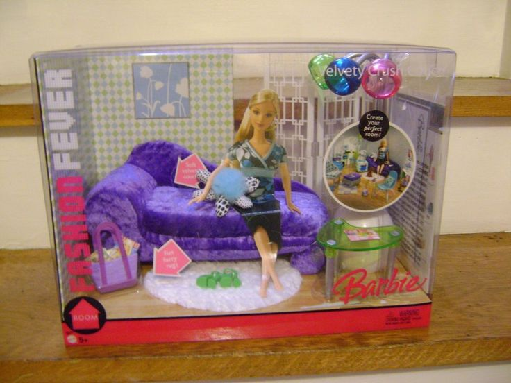 Barbie Fashion Fever Living Room Furniture Set