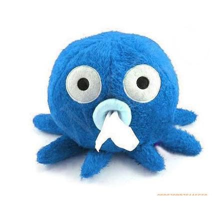 Octopus Tissue Boxes $9