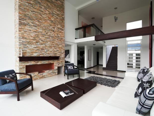 Ambientes Com Pé Direito Duplo E Mezaninos Modernos!!! Interior DesigningLiving  Room FurnitureModern ... Part 78