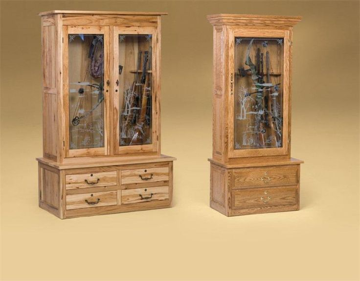 Best 25+ Wood gun cabinet ideas on Pinterest