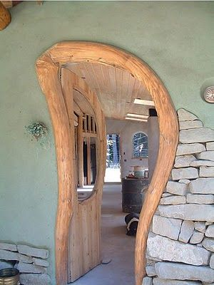 :::: PINTEREST.COM christiancross ::::  Curvy Doorway