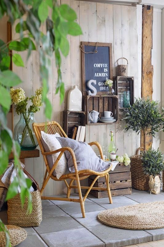 idee deco jardin hiver