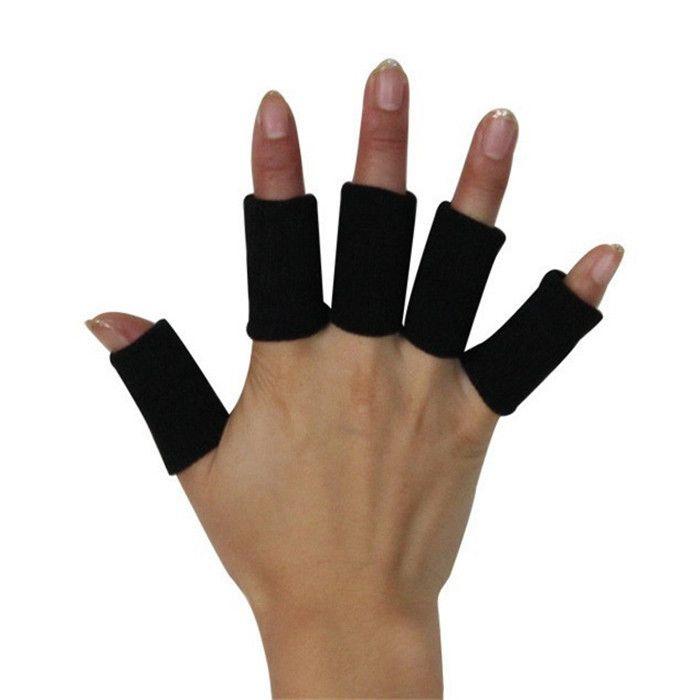 Дышащие накладки на пальцы для удобной стрельбы из лука без мозолей/10 штук