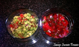 Guacamole and pico de gallo | Food for thought | Pinterest