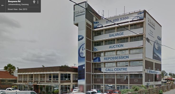 The new home of Rolling Thunder Classic Cars, No.48 Booysens Road, Selby, Johannesburg