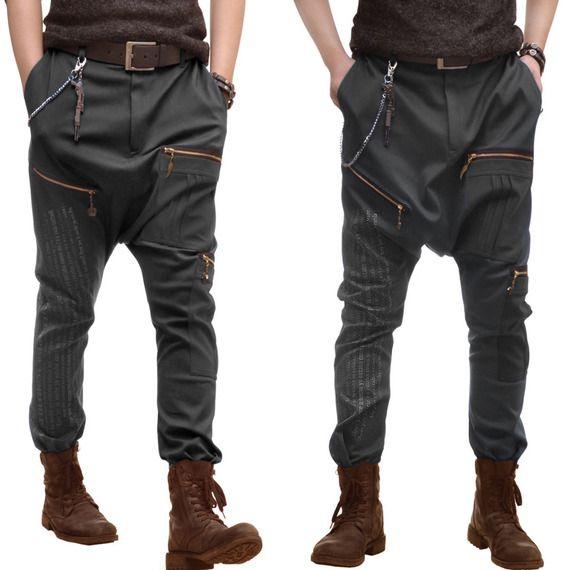 Jean pantalon sarouel pour homme sur mesure (N1)