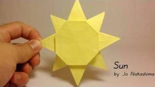 Origami Sun (Jo Nakashima), via YouTube.