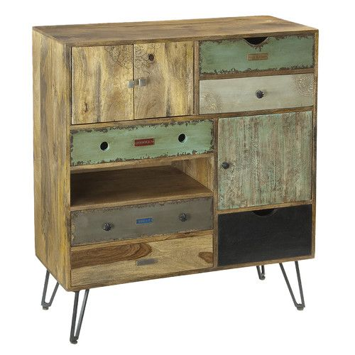 Coast to Coast Imports LLC 2 Door and 6 Drawer Chest