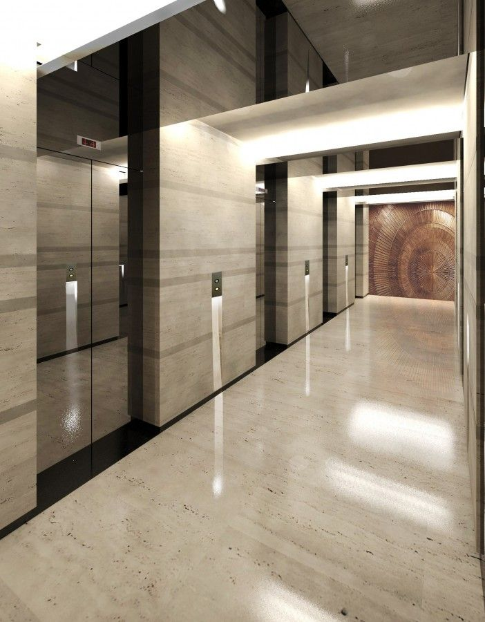 Marcopolo ortigas office dsfn architects on pinterest for Elevator flooring options