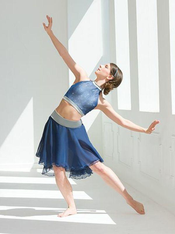 tenue de danse moderne, costume de danse moderne