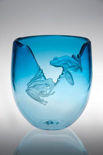 Miki Kubo Frog vase
